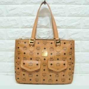 Mcm authentic large tote